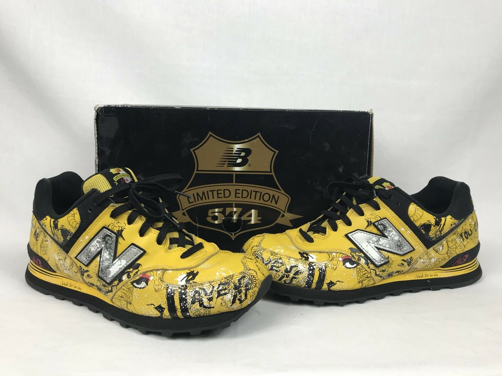 RARE HTF New Balance 574 AVENJ Sean D'Anconia Limited Edition Size 10.5 W/Box
