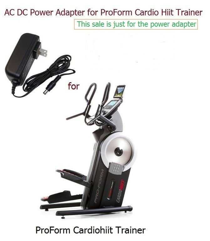 AC Power Adapter Power Supply for ProForm HIIT Trainer