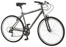 Schwinn 700C Men's Capitol Hybrid Bike Bicycle - Grey