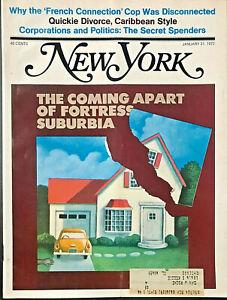 New York Magazine Coming Apart of Fortress Suburbia Paul Davis January 31 1972