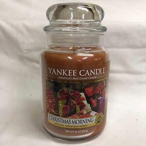 Image Is Loading Yankee Candle CHRISTMAS MORNING Large 22 Oz Jar