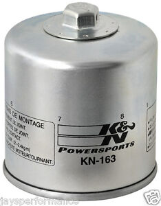 Performance Gold Oil Filter For 2001 BMW R1100S Street Motorcycle K/&N KN-163