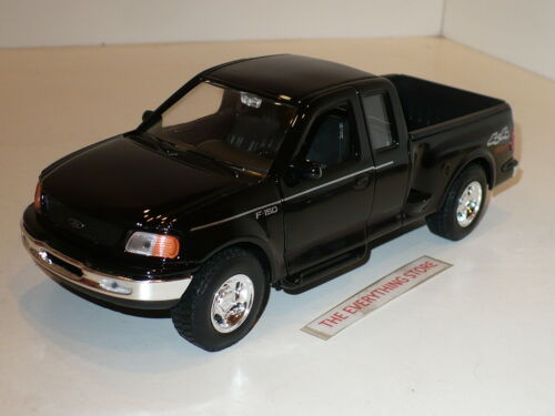 WELLY FORD F-150 FLARESIDE SUPERCAB 4X4 SPORT PICK UP TRUCK BLACK FREE USA SHIP