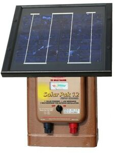 Parmak Solar Powered Electric Fence Charger Magnum Solar