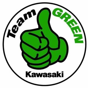 Image Is Loading Kawasaki Team Green Logo Vinyl Sticker Decal Cornhole