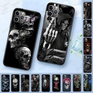 Fashion-Grim-Reaper-Skulls-Skeleton-Luxury-Hybrid-Case-iPhone-7-8-XS-11-Pro-Max