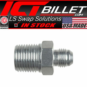 2Pc 6 8 10 12AN Male Billet Weld on Fitting Bung Weld Bung