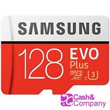 100 MB//s Rojo #6548 Tarjeta MicroSD con Adaptador SD 128 GB Samsung EVO Plus