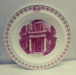Wedgwood-Phillips-Exeter-Academy-Dunbar-Hall-Plate-1956-175th-Anniversary