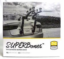Saris Superbones 3 Bike Bicycle Trunk Rack Locking #802 Super Bones