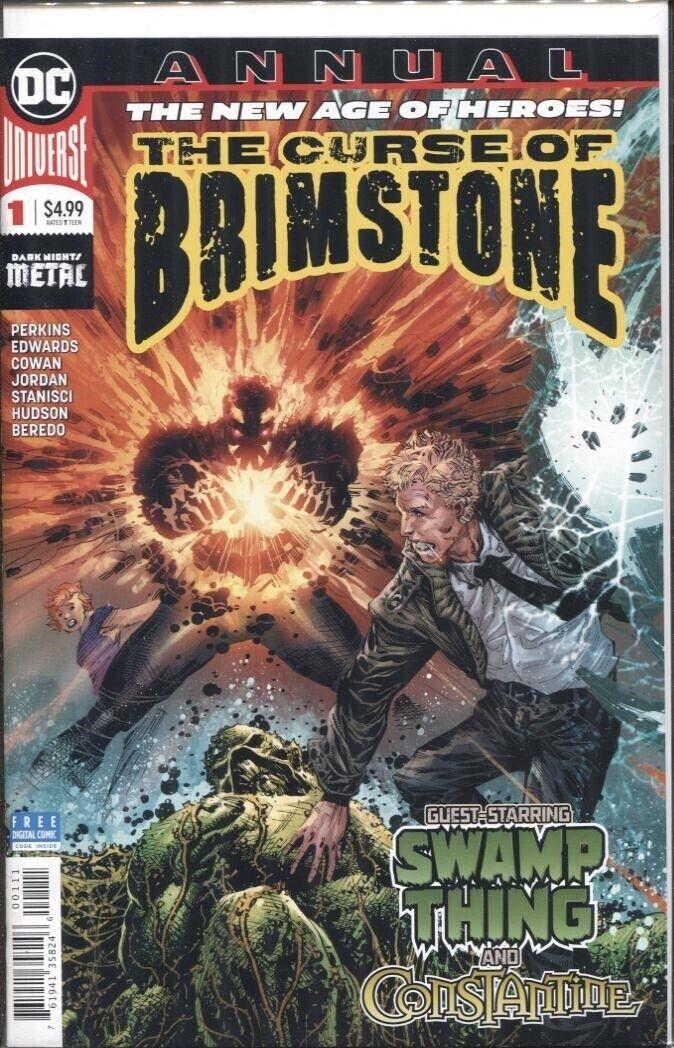 Curse of Brimstone Annual #1 VF 2019 Stock Image