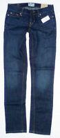 Womens Aeropostale Dark Wash Bayla Skinny Jeans 0237