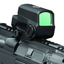 Black Tactical Optic LCO Reflex 1x Green Red Dot Sight Matte 1 MOA Dot