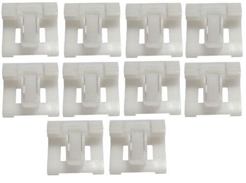 Lot de 10 agrafes clips pour moulure ceinture compatibles Honda Civic 1992-1995