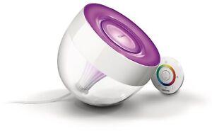 Lampada-da-Tavolo-LED-Philips-Living-Colors-IRIS-colore-Bianco-nuovo