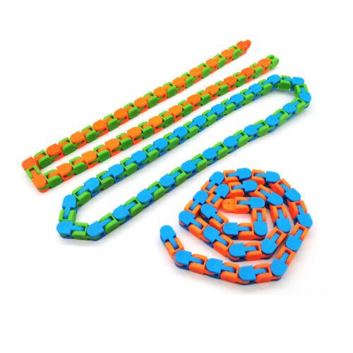 Anti Stress Toy For Kids  Bike Chain Fidget Bracelet Puzzle Educational Toys
