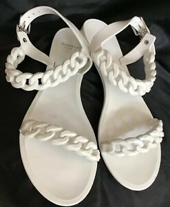 Givenchy Sandal White Chain Jelly
