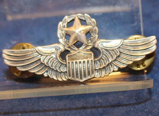 KOREAN AND/OR VIETNAM US USAF COMMAND PILOT NS MEYER 2 INCHES SHIRT WINGS