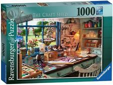 "RAVENSBURGER PUZZLE*1000 TEILE*MY HAVEN 1*THE CRAFT SHED*RARITÃ""T*NEU+OVP"