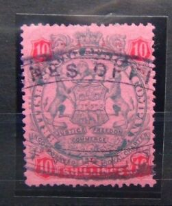 Rhodesie-1896-97-10-S-SG50-Fine-Used