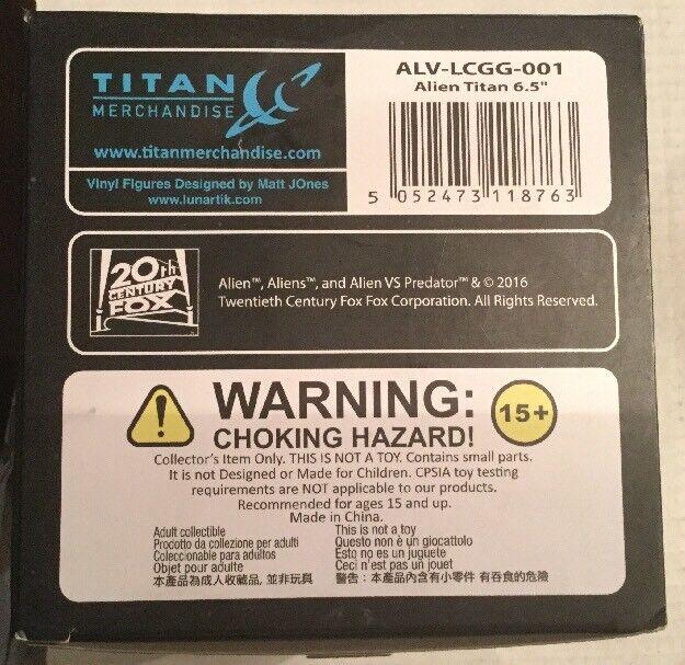 """Loot Crate Crate Crate Alien Exclusive 6.5"""" Titan Vinyl Figure Zeno Morph Variant GITD fc9f81"""