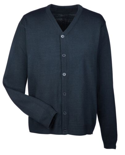 MEN/'S V-NECK EASY CARE CARDIGAN // SWEATER XS-6XL BUTTON FRONT ANTI-PILL