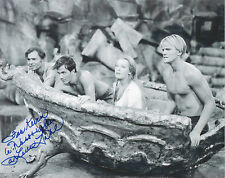 ARLENE DAHL Signed 10x8 Photo JOURNEY TO THE CENTRE OF THE EARTH COA
