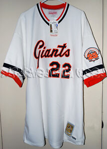 new product 930b4 33141 Details about MITCHELL & NESS SAN FRANCISCO GIANTS JACK CLARK JERSEY 1982  60 4XL NWT 2004