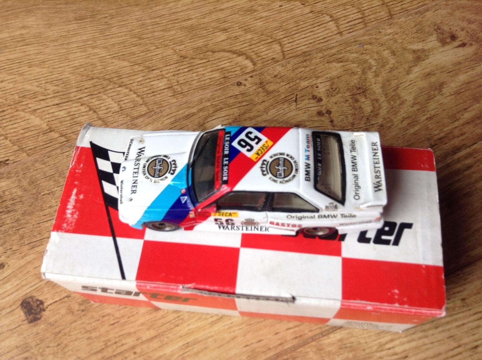 STARTER RESIN HANDBUILT1 43rd BMW M3 WARSTEINER 1990 1990 1990 SPA 24 HR CAR No 56 953212