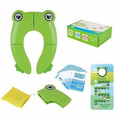 Portable Folding Large Non Slip Silionce Pads Potty ...