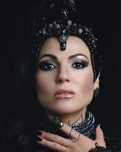 Details About Lana Parrilla Autographed 8x10 Photo Once Upon A Time 1