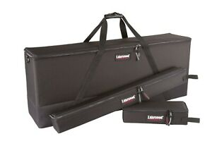 NEW-Lakewood-Soft-Sided-Hard-Archery-Single-45-034-Bow-Case-Combo-Black