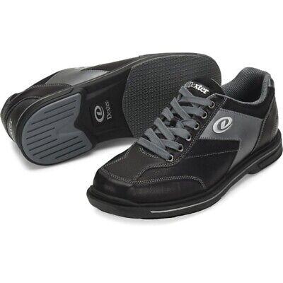 Mens Dexter MATCH PLAY Black Bowling Shoes Interchangeable Sole Sizes 8-13 LH