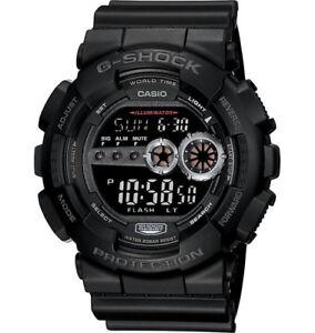 Casio-G-Shock-Digital-Mens-Black-X-Large-Watch-GD-100-1BDR