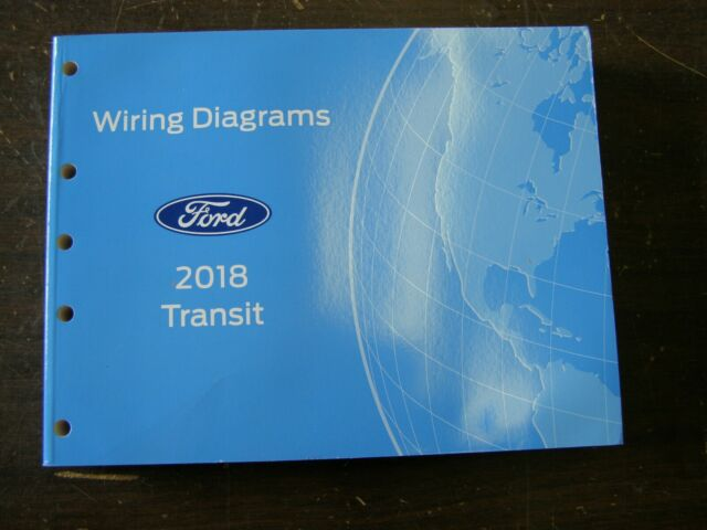 Oem Ford 2018 Transit Van Shop Manual Wiring Diagram Book