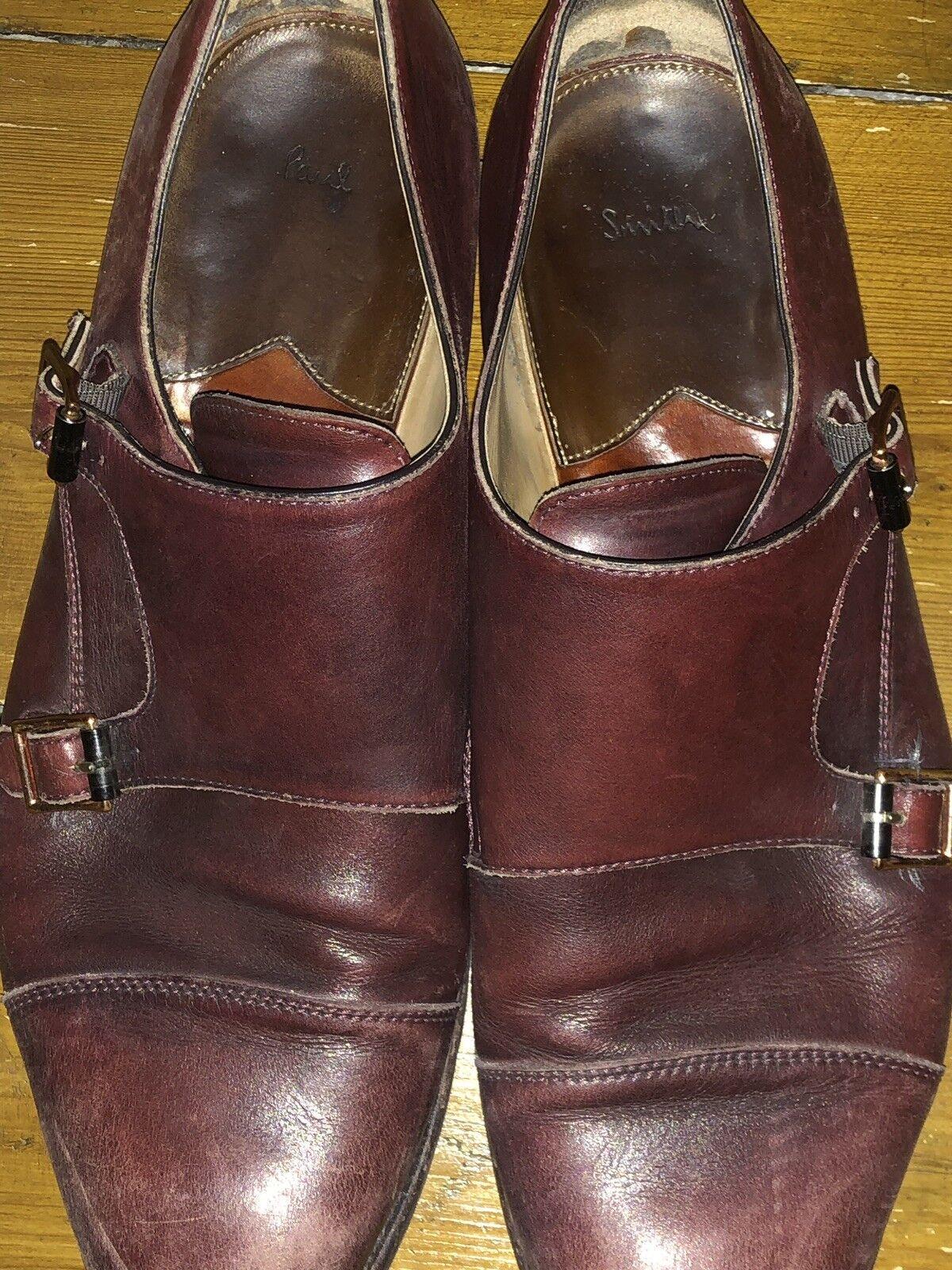 Paul Smith Double Monkstrap shoes Size 10