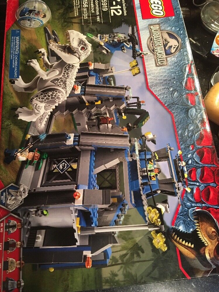 LEGO 75919 Jurassic World Indominus Rex Breakout New factory sealed