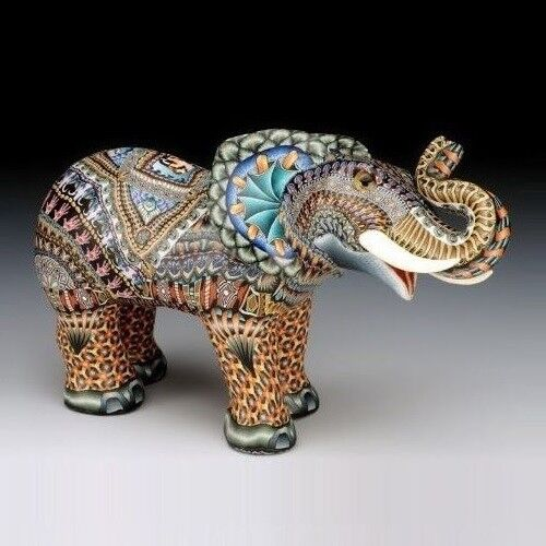 Elephant Baby Figurine FimoCreations FCfeb