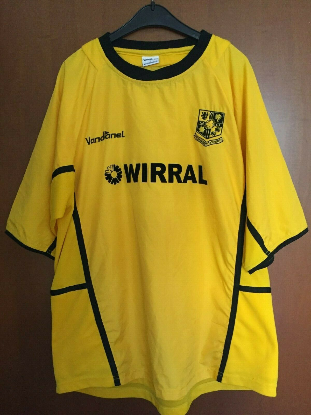 Maglia Shirt Maillot Trikot Jersey Tranmere Rovers Wirral Vandanel England