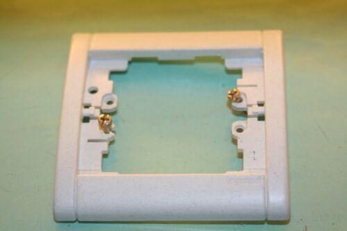 blanc moucheté LEGRAND SAGANE SILEX Plaque 85010 ou 850 10