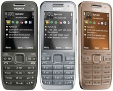 Original Nokia E52 Unlocked 3G Cell Phone Camera 3.2MP Bluetooth Wifi GPS.