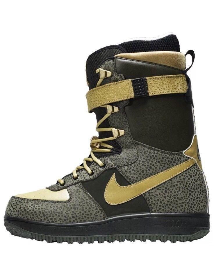 Nike zoom force force force 1 zf1 snowboard - stiefel 334841-371 größe 6 us - mens grün - schwarz e54a03