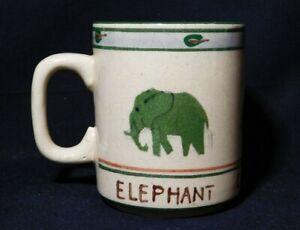 Zimbabwe Rob Byrne Elephant Africa Victoria Falls Coffee Tea Mug Cup 3 5 8 Tall Ebay