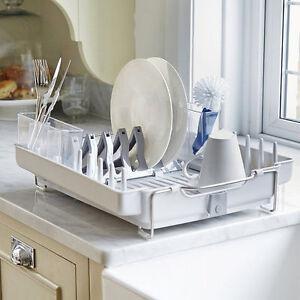 Oxo Good Grips Foldaway Dishrack Dish Drainer Rack Plastic