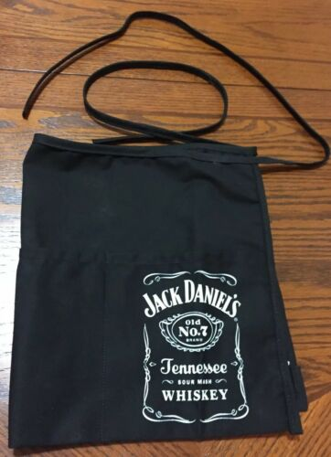 7 Whiskey Black Unisex One Size Jack Daniels Bar Apron Old No