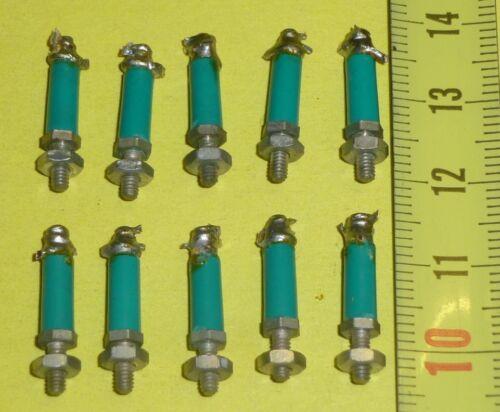 10 x Lötstützpunkte Grün Mod 3