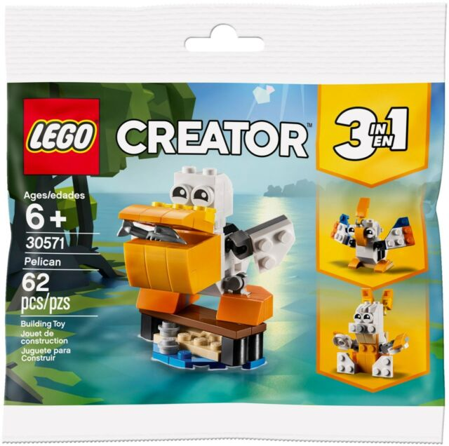 LEGO 30571 Creator Pelican Polybag - Brand New Sealed