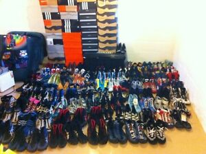 Complete-Wrestling-Shoe-collection-148-Pairs-Nike-Adidas-Asics