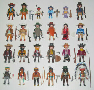 Playmobil-Figurine-Personnage-Cow-Boy-Westerns-Accessoires-Modele-au-Choix-NEW