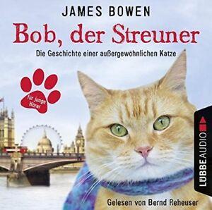 JAMES-BOWEN-BOB-DER-STREUNER-DIE-GESCHICHTE-EINER-AUsERGEWO-CD-NEW